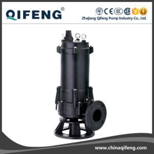 비 Wq 방해물 잠수할 수 있는 하수 오물 슬러리 펌프