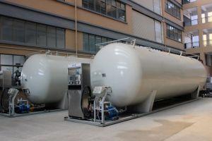 stazione di riempimento di pattino di 10cbm GPL dalla Cina