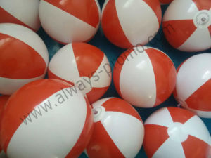 Ballon de plage gonflable Bi-Colored PVC