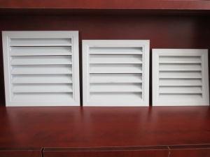 Grelha de ar único de ventilação