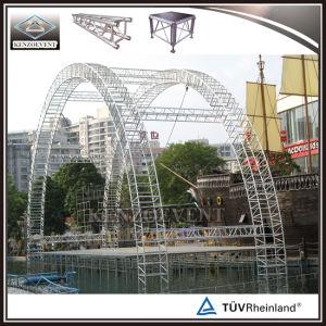 イベントのためのアルミニウムによってアーチ形にされる屋根のトラスシステム