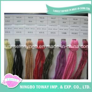 China Alta Tenacidad sólida mezcla del color del hilado de lana acrílica