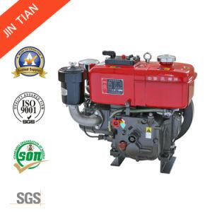 冷却される水が付いている無声単一シリンダーディーゼル機関(JT76)
