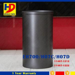 De Voering van de Cilinder van Motoronderdelen H07D voor Hino wordt gebruikt die