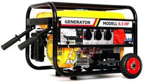 Fase 3, generador eléctrico de gasolina con ruedas