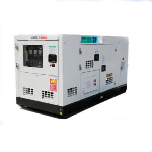 Brushless Alternator를 가진 125kVA Cummins Soundproof Diesel Generator