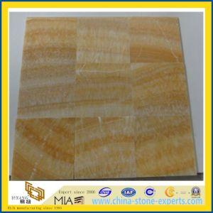 Het gele Marmeren Onyx van de Honing voor Tegels, Plakken, Mozaïek