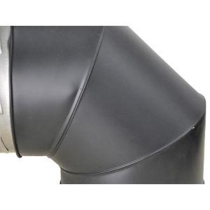 Tubo del camino della stufa della vernice del Ce un gomito da 90 gradi