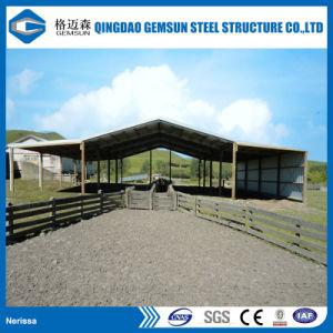 Taller de estructura de acero Godown prefabricados metálicos almacén estructura del techo