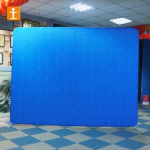 ファブリック旗の背景幕の壁によっては展覧会の立場が現れる