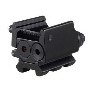 柵の台紙との戦術的な赤レーザーの点ハンチングレーザーの視力