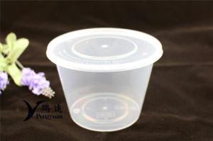 Plastikmikrowellen-Wegwerfbehälter für Mikrowelle, Gefriermaschine und Spülmaschine