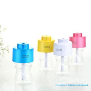 De Draagbare ABS USB Maker van de Mist van het Aroma van de Verspreider van de Lucht van het Bureau van de Luchtbevochtiger gelijkstroom van Kroonkurk van het Water 5V met de Absorberende Stokken van de Filter Bottle+2PCS
