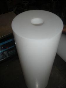 De Plastic Zuivere TeflonStaven PTFE van uitstekende kwaliteit met Verbinding