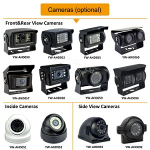 Waterdichte Mist Rearview Camera HD voor de Veiligheid van de Visie van de Uitloper