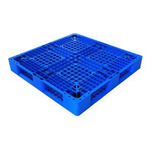 3 Parte inferior das calhas e decks fechado de paletes de plástico para serviço pesado