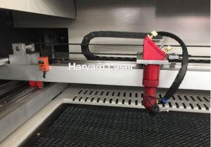 세륨 FDA ISO를 가진 직물 직물 가죽 Laser 절단 조각 기계