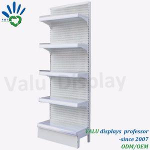 Mensole della mensola di visualizzazione del supermercato dei fori perforati del metallo di buona qualità (VMS903)