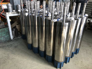 6SP46 submersível de aço inoxidável de alta pressão da bomba de água de poços