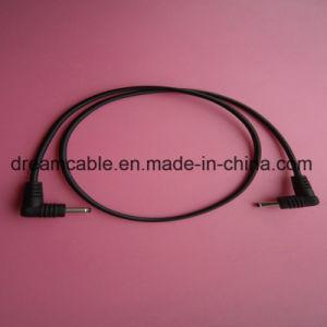 1м, черный 3,5*1,35 мм кабеля питания постоянного тока