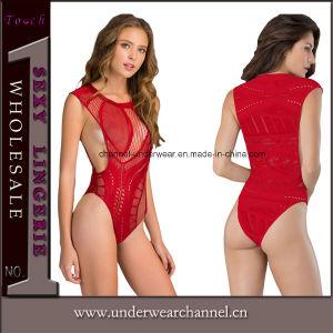 Sexy adulto camisa Underwear Teddy Liga Lenceria (3266)