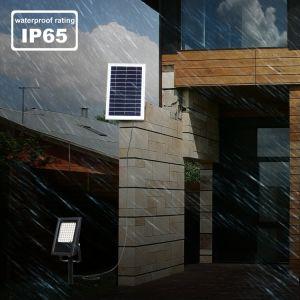 56 Индикатор смены цветов RGB для использования вне помещений безопасности солнечной настенный светильник фонарь направленного света с помощью пульта дистанционного управления для сада, патио, во дворе, бассейн