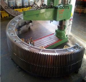 De grote Gietende Ring van het Toestel van de Molen van de Bal & Roterende Drogere & Roterende Oven