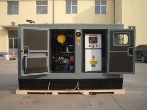無声タイプ3段階の発電機30kVA