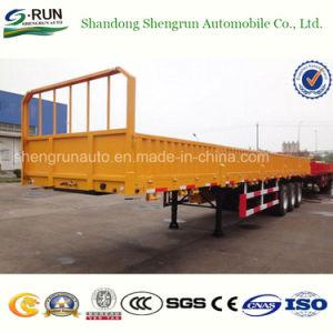 Parede lateral de carga Shengrun semi reboque