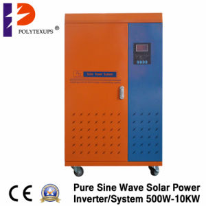 5kw de Energía Solar de uso doméstico de verificación con TV y ventiladores