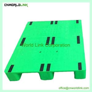 3 Reciclagem de calha única Face Palete de plataforma de armazenamento