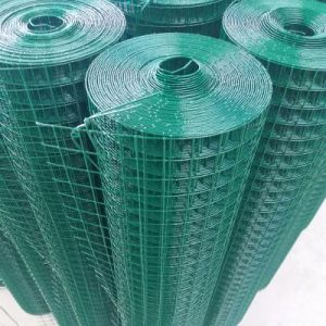 1/4の網1.5mmの厚さのPVCによって塗られる溶接された網パネル