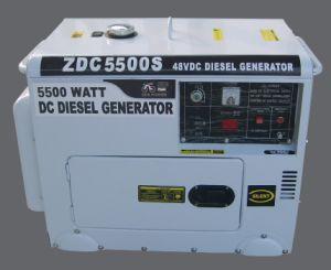 5 квт Silent типа DC дизельных генераторов (ZDC5500S)