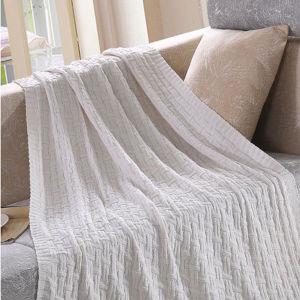 高品質は空想編む綿のニットの子供毛布(DPFB8016)を