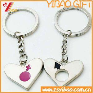 Metallo Keychain di figura del cuore per il ricordo