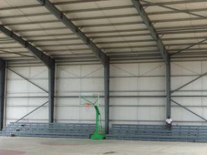 Structure de acero Building (yarda compleja al aire libre del baloncesto)