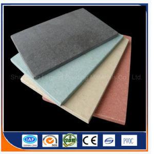 Fcb/Feu Couleur Gris ciment fibre Conseil/100%Non-Asbestos Fibre Cement Board