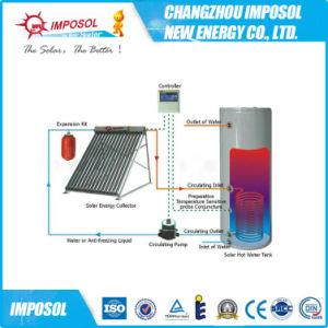 2016普及したヒートパイプの分割加圧太陽熱湯ヒーター