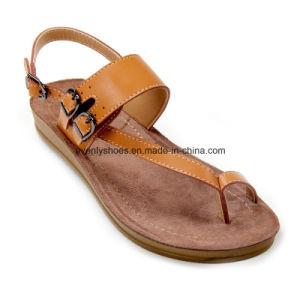Les femmes de l'été colorés avec Toe-Strap chaussures sandales de plage