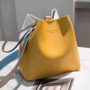 handbag PU 가죽 핸드백 물통 디자이너 가죽 핸드백 숙녀 손 부대 핸드백 (WDL01298)