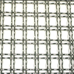 ステンレス鋼か鉄によってひだを付けられる金網のパネル