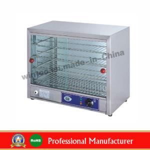8. Kommerzieller elektrischer Bildschirmanzeige-Nahrungsmittelwärmer-Schaukasten