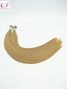 Commerce de gros cheveux humains d'extension de cheveux en vrac d'extension naturelle des cheveux