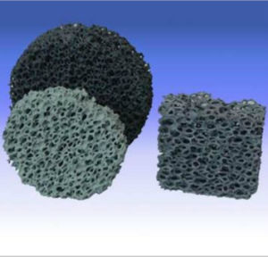 En céramique de zircone filtre en mousse pour le fer de moulage et de la fonderie