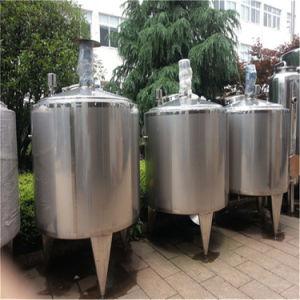 El depósito de acero inoxidable aislado para el transporte de líquidos de farmacia