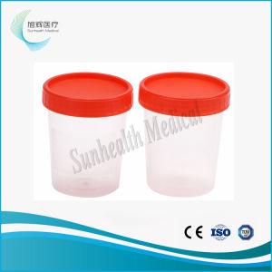 Conteneur de collecte de spécimens de selles en plastique