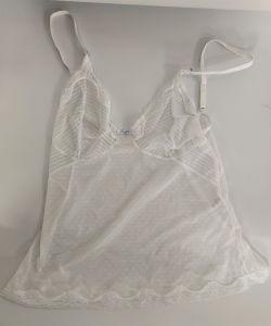 Hot Sale dentelle Sexy voir au travers de chemise de nuit Vêtements de nuit pour femmes