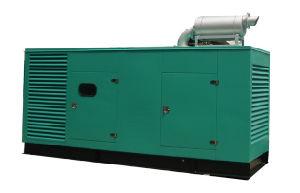 Низкий уровень шума Cummins генератор 343Ква (НСМ343)
