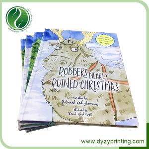 L'art du papier à couverture rigide personnalisée d'impression CMJN Livre de contes pour enfants