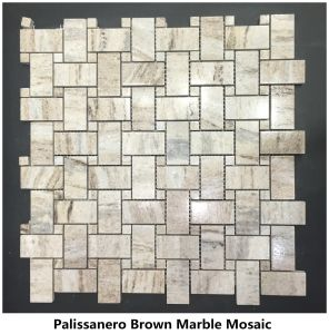 Het natuurlijke Mozaïek van de bovenkanten van de Ijdelheid van de Tegels van de Plakken van de Steen Witte Zwarte Gele Beige Rode Groene Bruine Blauwe Roze Grijze Opgepoetste Marmeren